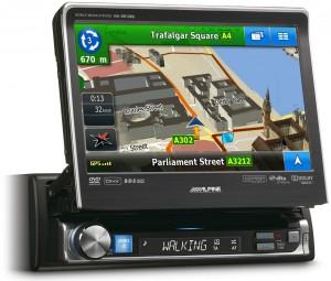 1-DIN Navigation Alpine