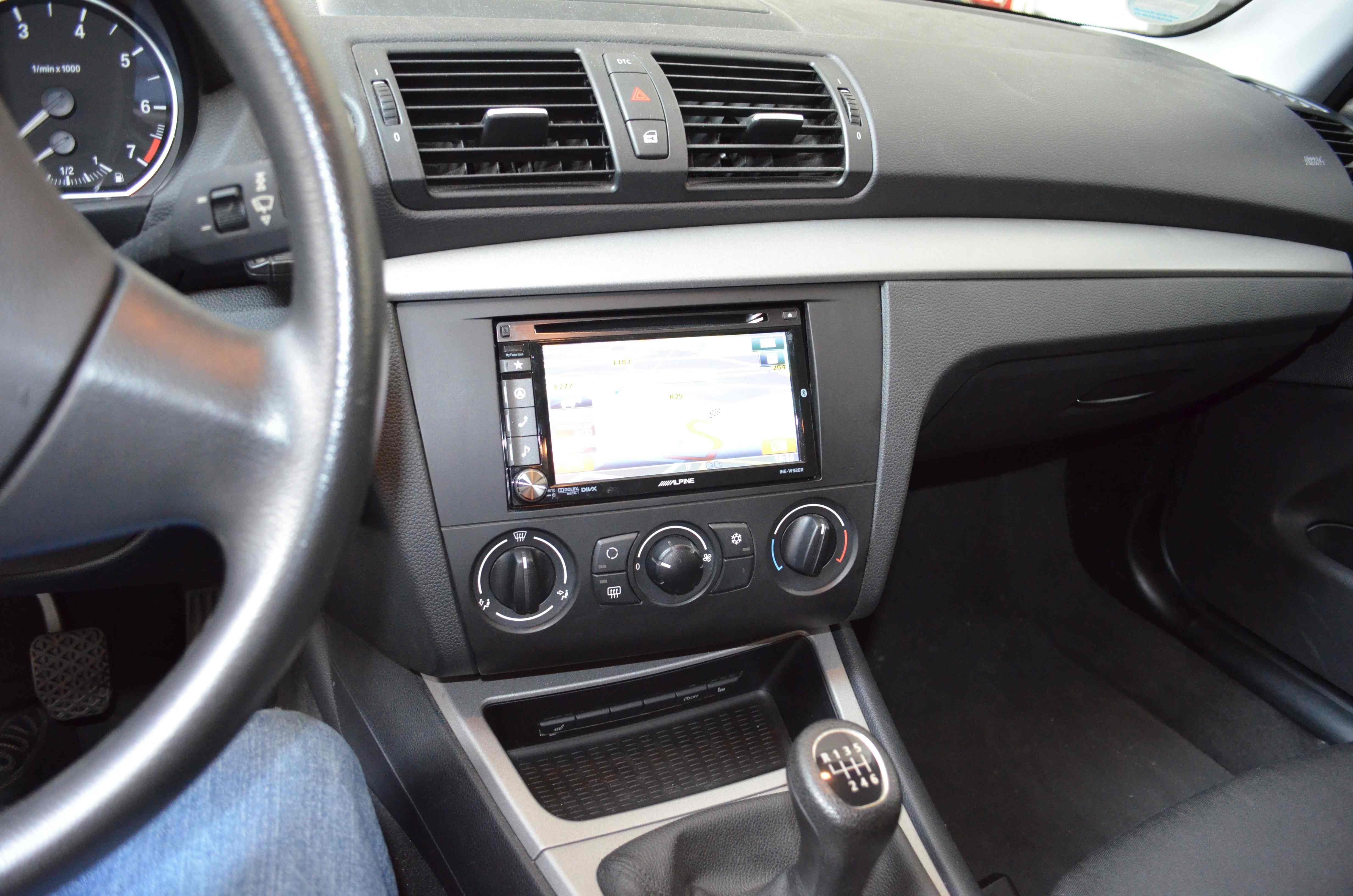 BMW 1er 2-DIN Umrüstung