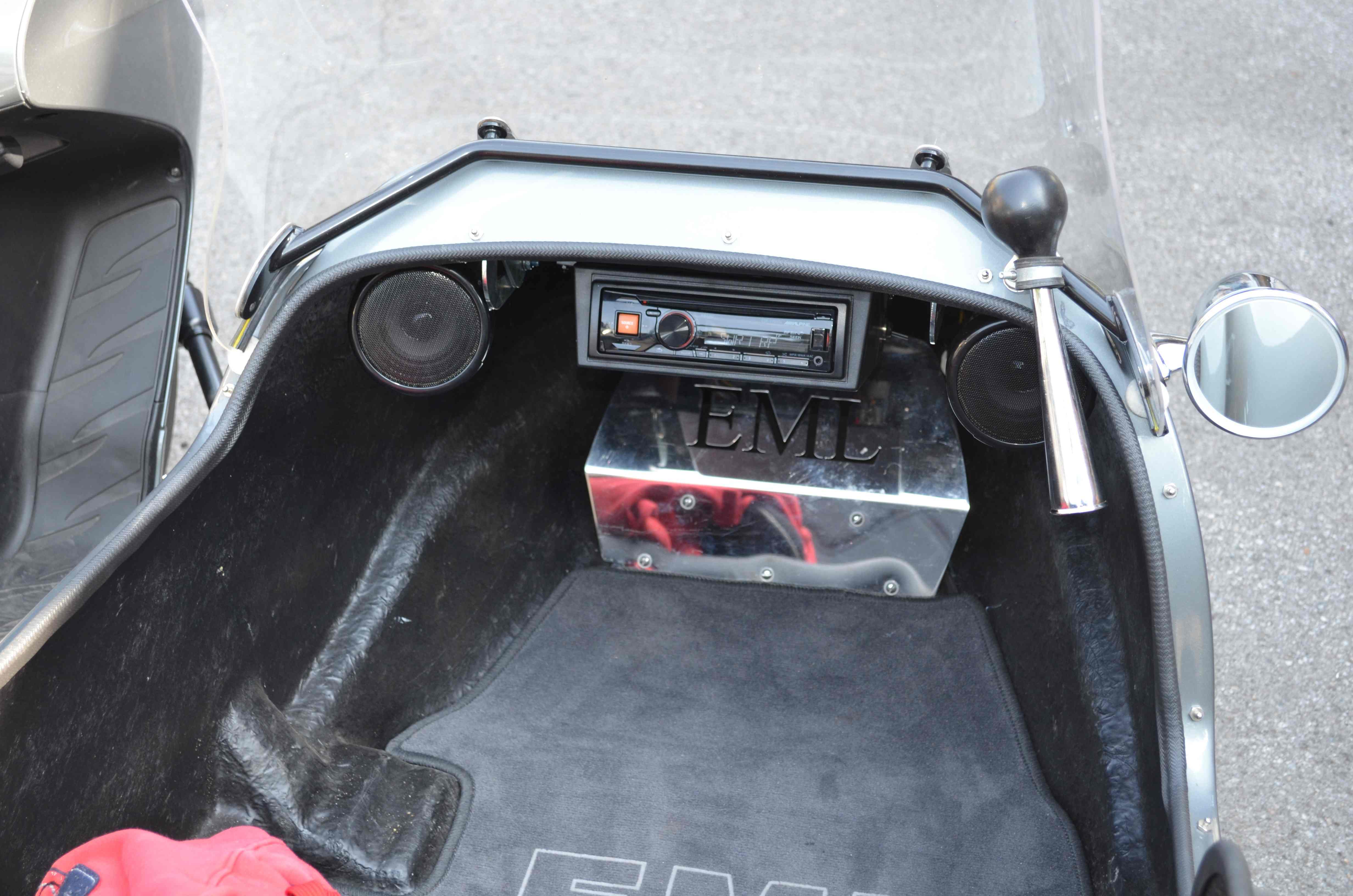 Motorrad Radio + Lautsprecher