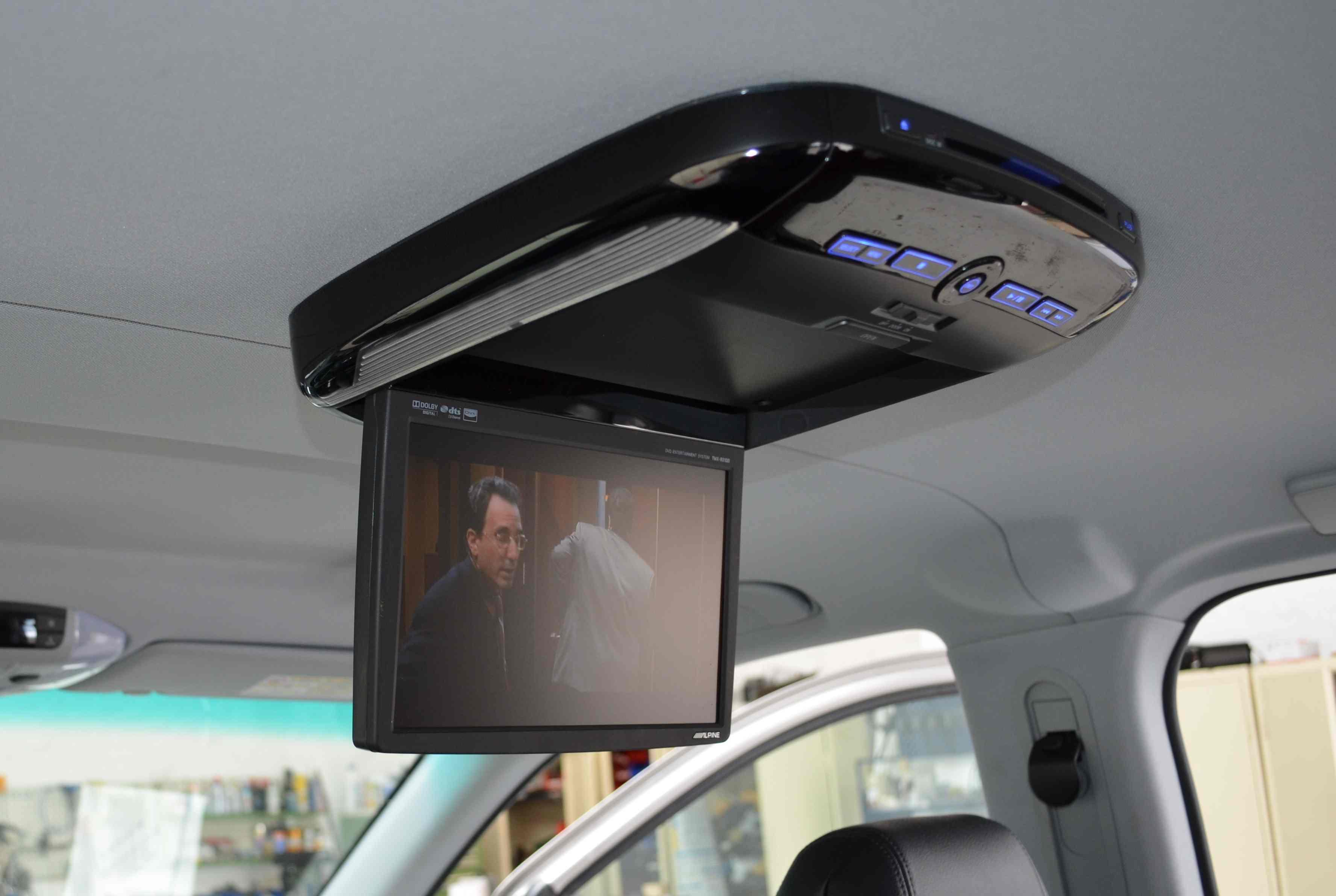 VW T5 Deckenbildschirm
