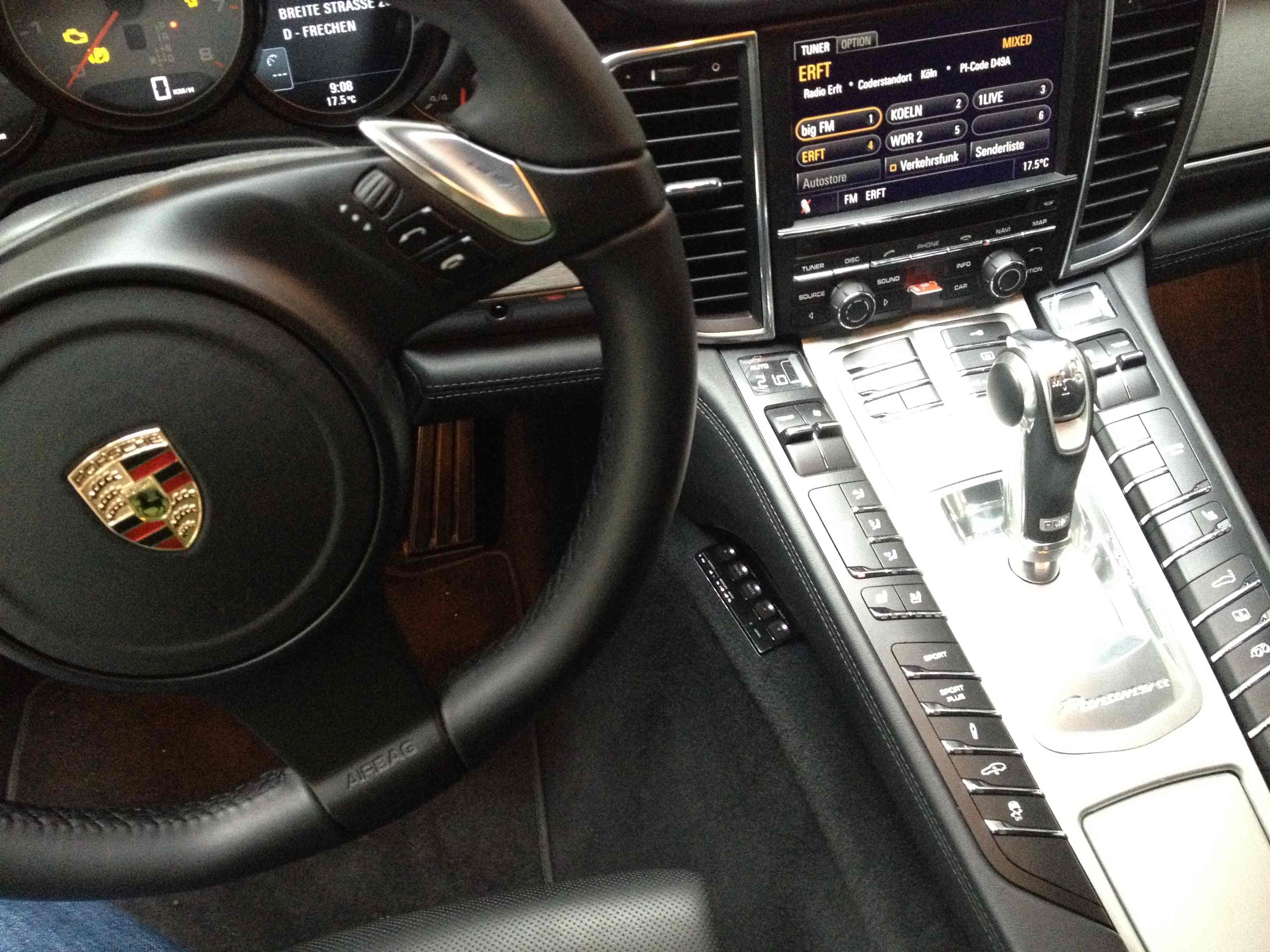 Porsche Panamera Stinger Card